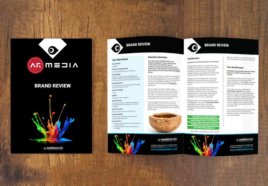 AR Brand Review Report by Media Identity