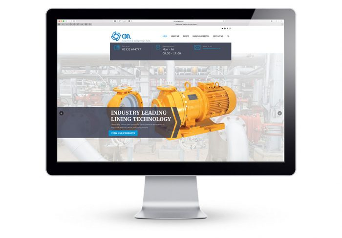 CDR Pumps Responsive Website Designed by Media Identity