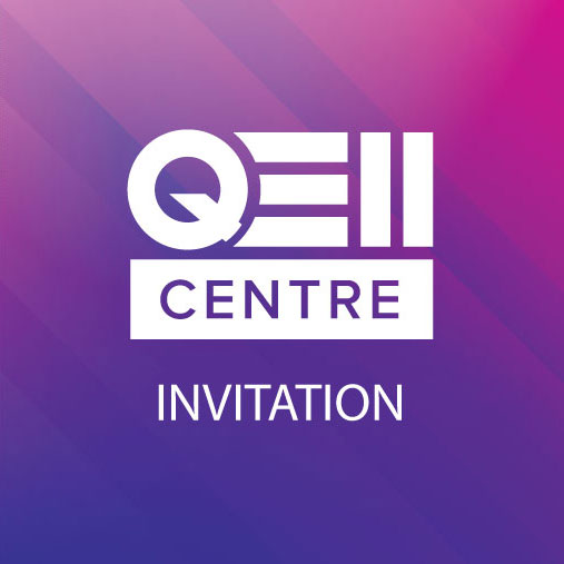 QEII Centre Invitation Designed by Media Identity