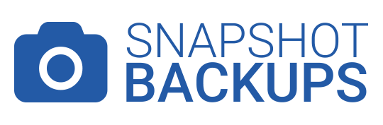 Snapshot website backups in northampton