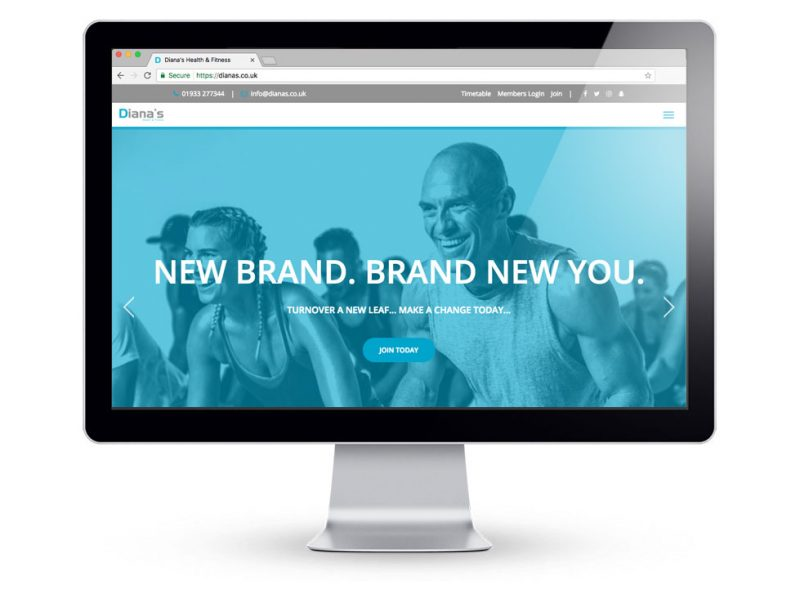 Diana's Health & Fitness, New Website Designed & Built by Media Identity
